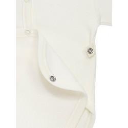Pack 3 Unds. Body neonato abierto delante manga corta 100% algodón.