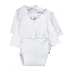 Newborn´s long sleeve open one-piece.