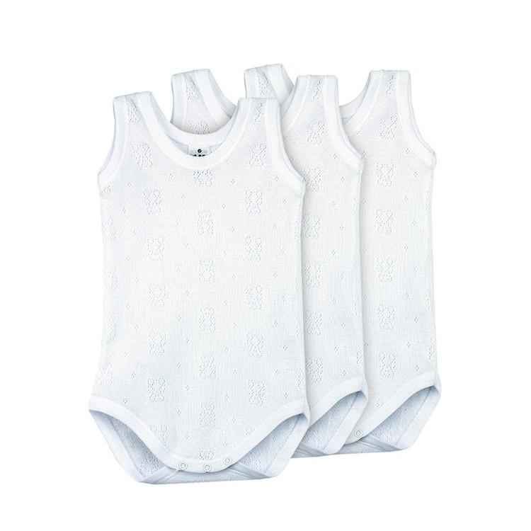 cf00c3002 Pack 3 Unds. Body calado sport 100% algodón bebé.