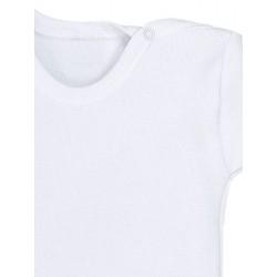 Body bebé manga corta 100% algodón.