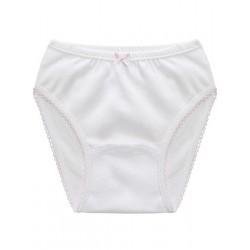 Pack 6 Unds. Braga niña  algodón-elastano.