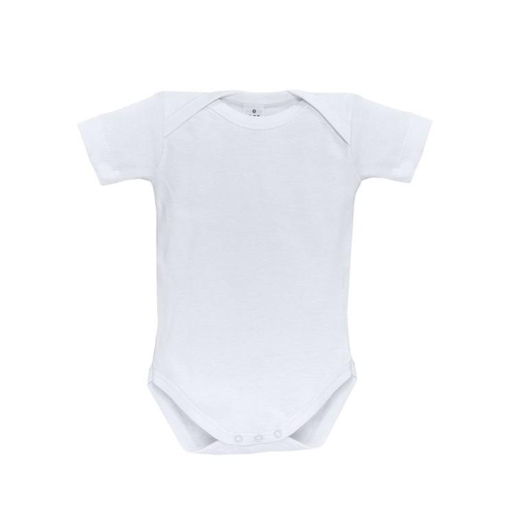 Pack 3 Unds. Body termal para bebé cuello americano manga corta 100% algodón.