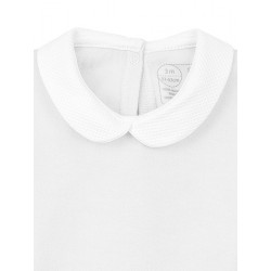 Pack 3 Unds. Newborn´s long sleeve one-piece with collar.