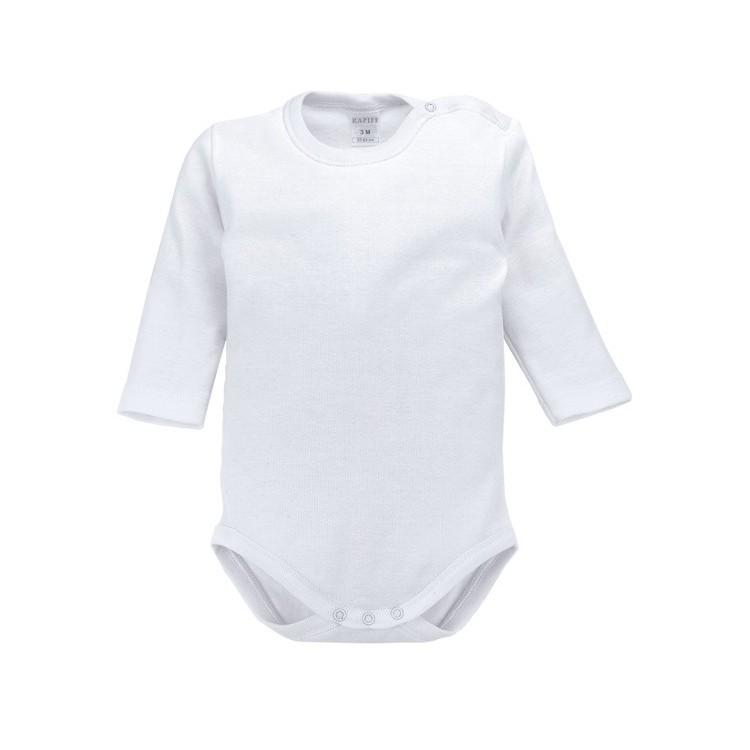 Body bebé manga larga 100% algodón en 1x1. (ref.8442)