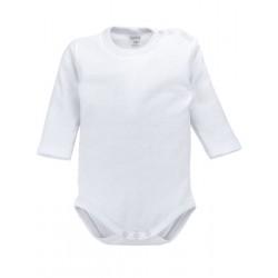 Body bebé manga larga 100% algodón.