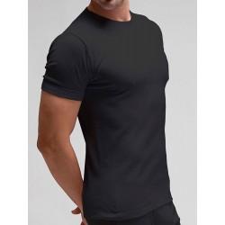 Camiseta termal manga corta cuello redondo
