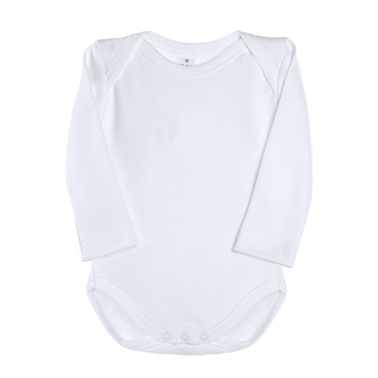 Body TERMAL con cuello americano y manga larga de interlock felpado 100% algodón (ref. 442)