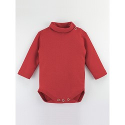 Men´s long sleeve one piece with pinned collar.