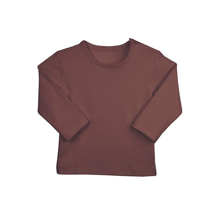 Camiseta manga larga para bebé 100% algodón.