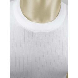 Pack 6 uds. Camiseta interior hombre TERMAL manga corta 100% algodón Interlock desagujado felpado. (ref.720)