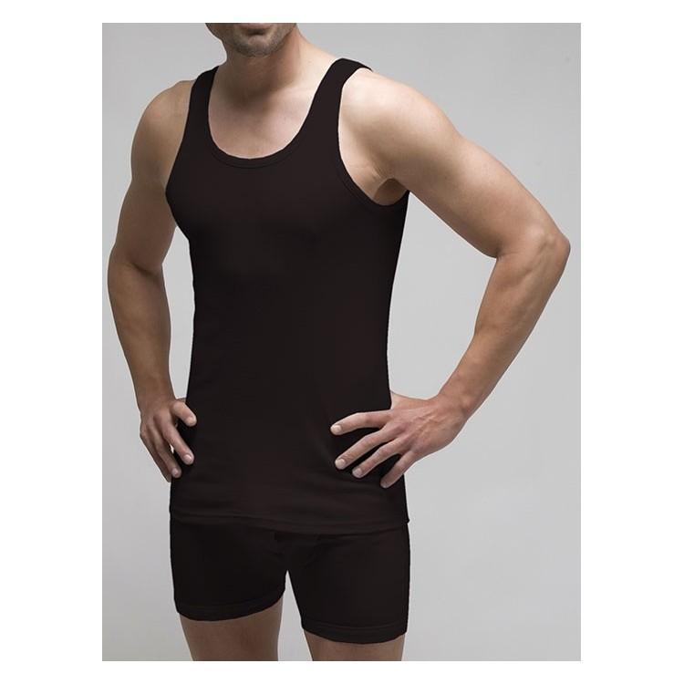 Pack 3 uds. camiseta sport hombre 100% algodón 1x1 patrón actual (ref. 3115)