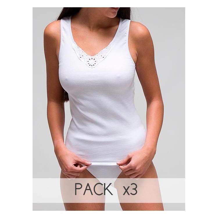 Camiseta sport con bordado.