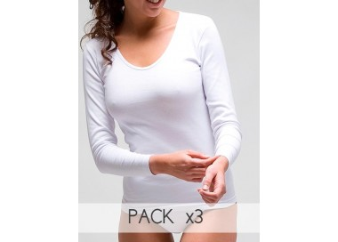 Camiseta manga larga rapife