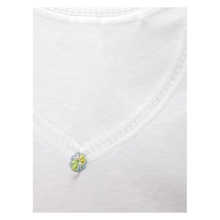 PACK 6 Unds. Camiseta termal manga corta para niña algodón-poliéster. (Ref: 360)