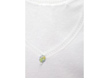 Camiseta termal manga corta para niña.