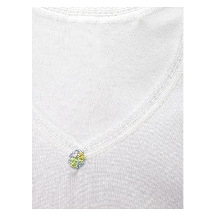 PACK 6 Unds. Camiseta TERMAL manga larga para niña 50% algodón-50% poliéster. (Ref: 365)