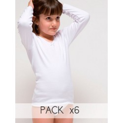 Girl´s thermal long sleeve t-shirt