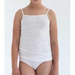 Conjunto de camiseta de tirantes y braguita infantil. (ref. 2324)