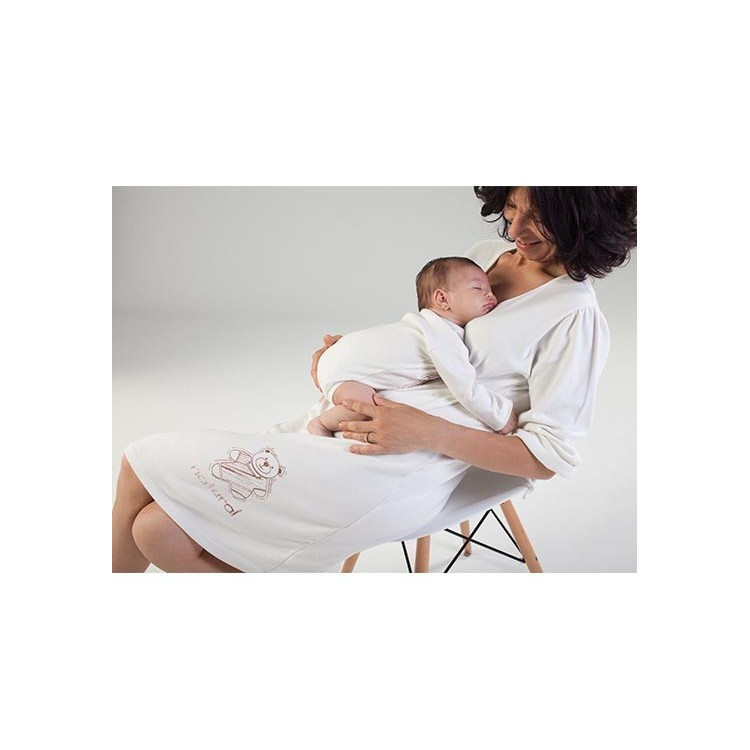 Pack nacimiento Body y camisón maternidad.