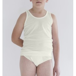 Conjunto de camiseta sport y slip infantil. (ref. 411)