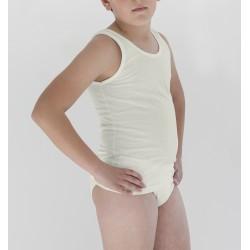 Conjunto de camiseta sport y slip infantil. (ref. 428)