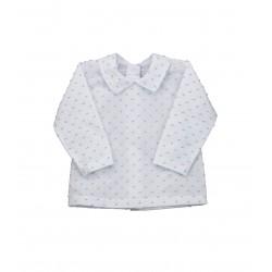 Blusa plumeti manga larga