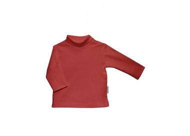 Camiseta unisex de manga larga con cuello cisne