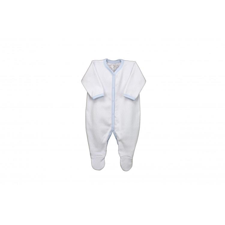 Pelele bebé manga larga abierto delante