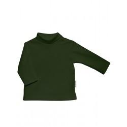 Camiseta unisex de manga larga y cuello cisne