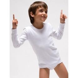 Camiseta infantil termal manga larga