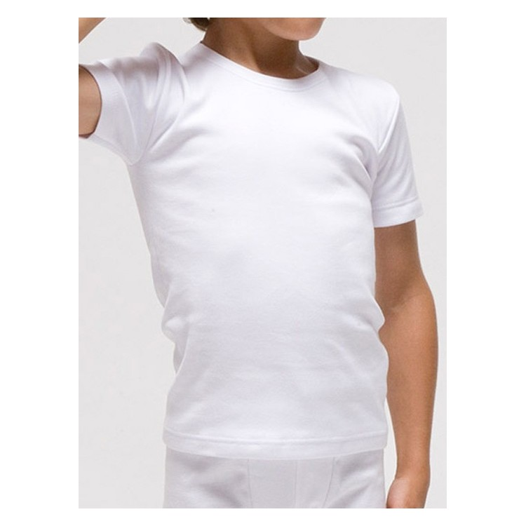Camiseta infantil térmica manga corta
