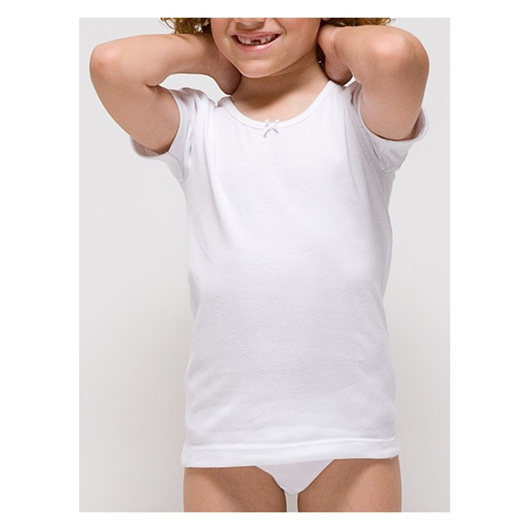 Camiseta manga corta niña.