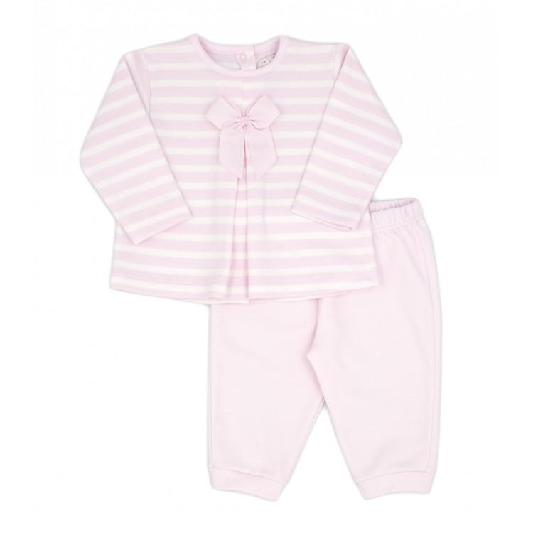 Conjunto dos piezas pantalón largo invierno Everest rosa