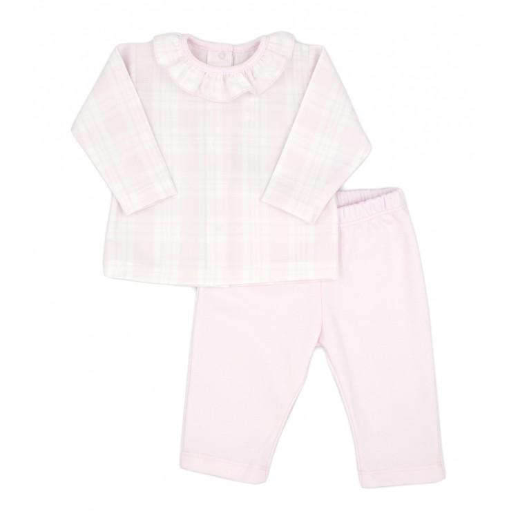 Conjunto dos piezas pantalón largo invierno Himalaya rosa