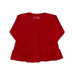 Chaqueta roja de interlock Vesubio