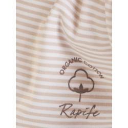 Pijama de algodón orgánico infantil niño.