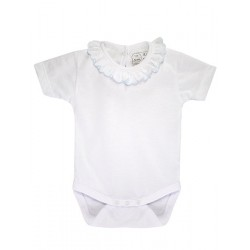 Baby´s short sleeve one-piece.