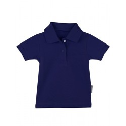 Baby short sleeve polo shirt.
