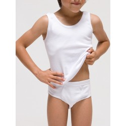 Conjunto camiseta sport y slip infantil.