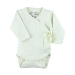 Long sleeve 100% Cotton Cross-Over Bodyvest (ref: 842)
