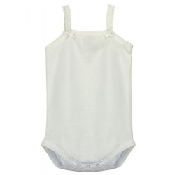 Baby body with straps