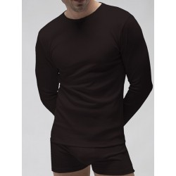 Pack 3 Uds. Long sleeves T-shirt 1x1 cotton-elasthane